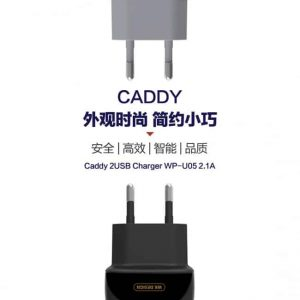 Oplader 2 Ports Quick Charge. Sort