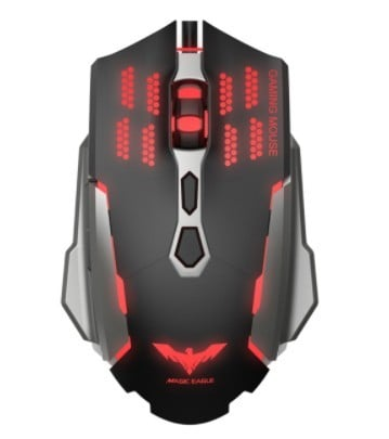 Havit Gaming mouse wired black/red