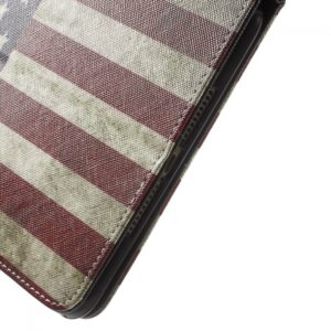 iPad mini 4 Cover m. amerikansk flag