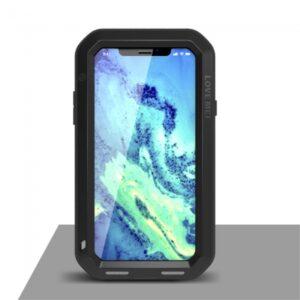 iPhone X Cover Stød og støv sikker. Sort