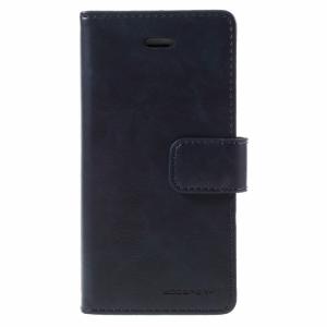 iPhone 5/5S/SE FlipCover til kort PU Læder. Blå