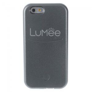 iPhone 6/6S Cover m. lyseffekt, Grå