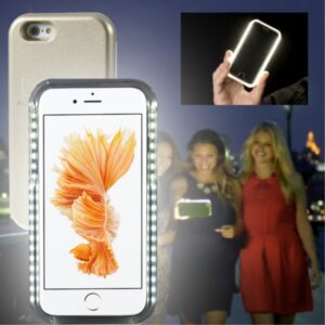 iPhone 6/6S Cover m. lyseffekt, Champagne