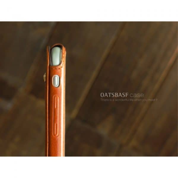 iPhone 6/6S Læder cover, Brun