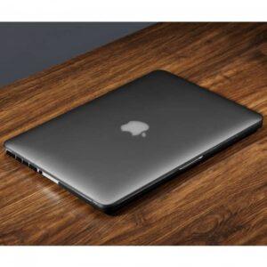 Macbook pro 15,4 cover. Sort transparent