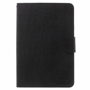 iPad mini Kanvas flip-cover m. kortholder, Sort.