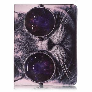 iPad 2/3/4 Flipcover. Kattehovede med briller