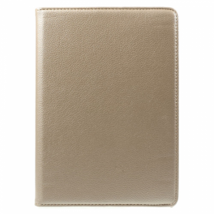 iPad Air 2 360* Flipcover m. lommer. PU læder Gold