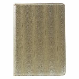 iPad Air 2 360* Flipcover PU Slangeskind. Gold
