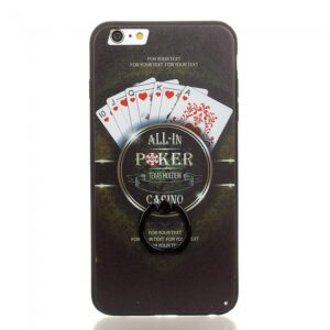 iPhone 6/6S Bagcover TPU All-in Poker