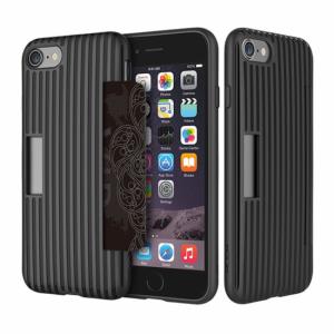 iPhone 7/8 TPU cover til kort. Sort