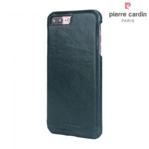 iPhone 7+/8+ Læder cover. Mørkegrøn