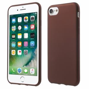 iPhone 7/8 TPU gummiflade Cover. Vinrød