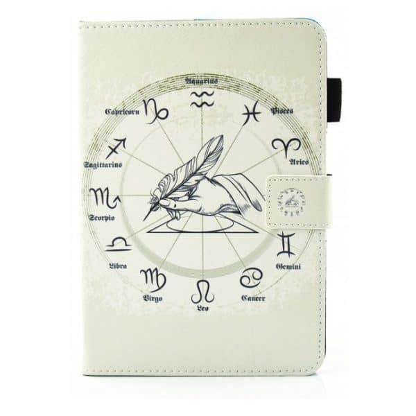 iPad mini Flipcover med lommer. Stjernetegn.