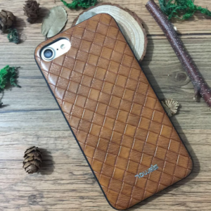 iPhone 7/8 mønstret Cover, brun