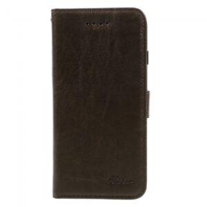 iPhone 7/8 Flipcover til kort. PU Læder Brun