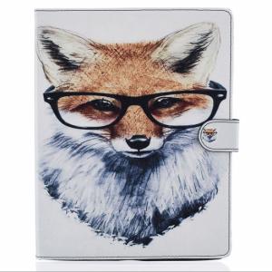 iPad 2/3/4 Flipcover. Ræv med briller.