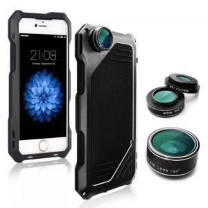 iPhone 7/8 Cover Støv/Stød sikker med linser.