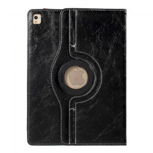 iPad Pro 9.7 Flipcover 360 grader. PU læder Sort