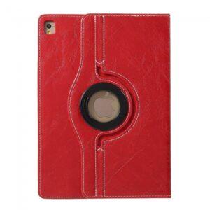 iPad Pro 9.7 Flipcover 360 grader. PU læder Rød