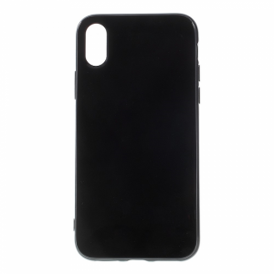 iPhone X Bagcover TPU, Sort