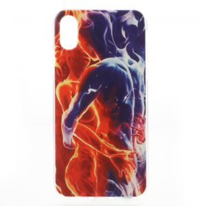 iPhone X Cover TPU. Par i flammer.