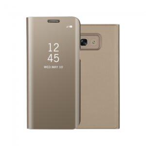 Samsung GS A3 (2017) Flipcover PU Læder Gold