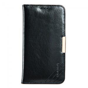 Samsung GS 7 Flipcover til kort. Læder sort