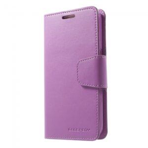 Samsung GS 7 Flipcover til kort. PU Læder Lilla