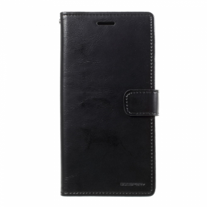 Samsung GS A3 (2017) Flipcover PU læder Sort.
