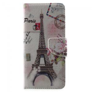 Samsung Galaxy S8 Plus Flipcover. Eiffel Tårnet