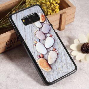 Samsung GS 8 Bagcover. Fodspor af sten