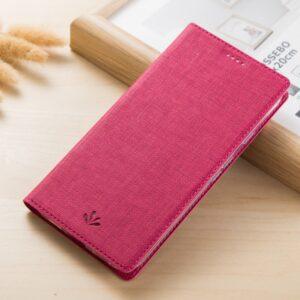 Samsung GS A3 (2017) Flipcover Tekstil Pink