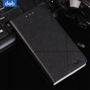Huawei P8 Lite (2017) Flipcover PU Læder Sort