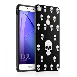 Huawei P8 Lite (2017) Cover TPU Skelethoveder