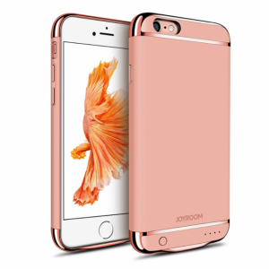 iPhone 6/6S Battericover. 3000mAh Rose Gold