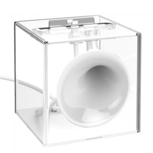 Lydforstærker til iPhone Hvid