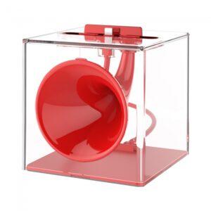 Lydforstærker til iPhone Rød