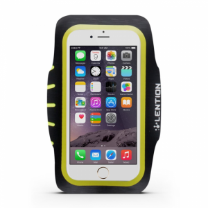 iPhone 6 Plus/6S Plus Sportsarmbånd Gul/Sort