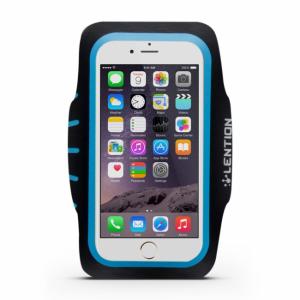 iPhone 6 Plus/6S Plus Sportsarmbånd Blå/Sort