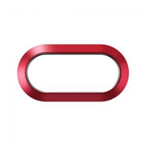 iPhone 7+/8+ Beskyttelse til kameralinse Rød