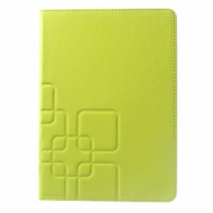 iPad Air 2 PU-læder flipcover m. kortholder, lime