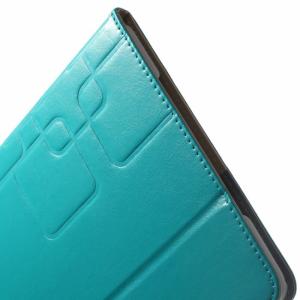 iPad Air 2 PU-læder flipcover m. kortholder, blå