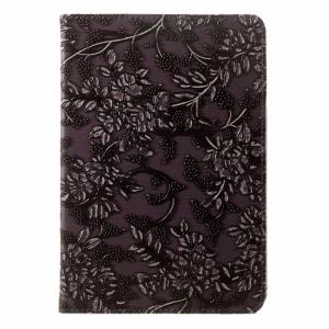 iPad mini 360* flipcover. Lilla med blomster.
