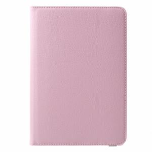 iPad mini 4 360 grader cover, lyserød