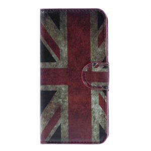 iPhone 6/6S flip-cover m. kortholder, Engelsk flag