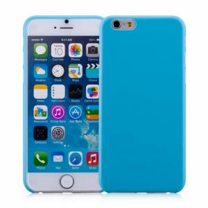 iPhone 6/6S Ultratyndt bagcover, blå
