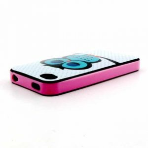 iPhone 4/4S cover m. ugle