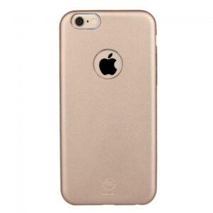 iPhone 6 plus/6S plus PU-Læder Bagcover, champagne