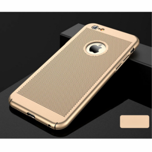 iPhone 6/6S Cover Hul til udluftning Gold